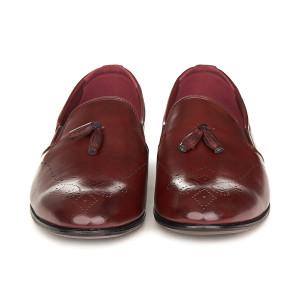 Pantofi barbati Antonio bordo