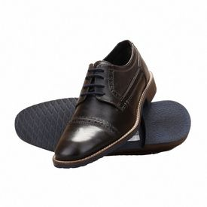Pantofi barbati office din piele naturala italiana Simeone