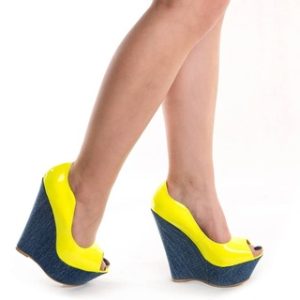 Pantofi cu platforma chic Adona