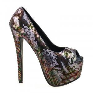 Pantofi cu platforma Julia