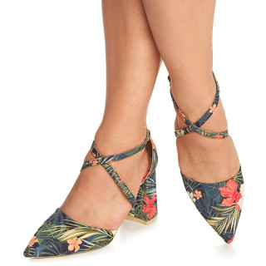 Pantofi cu toc mediu gros Anouska