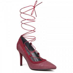 Pantofi dama, Bordo