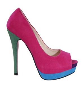 Pantofi de dama fuchsia/purple/blue/green/ Eden
