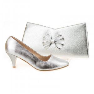 Pantofi de ocazie cu poseta inclusa Mara