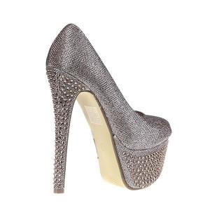 Pantofi Kerry aurii