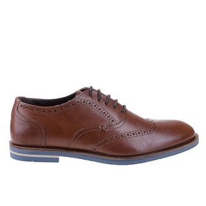 Pantofi oxford din piele naturala Laro