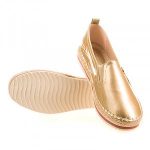 Pantofi sport Amalia gold