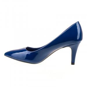 Pantofi stiletto cu toc mediu comod Bianca