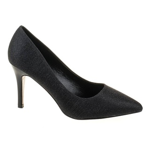 Pantofi stiletto eleganti cu toc mediu Marta blk