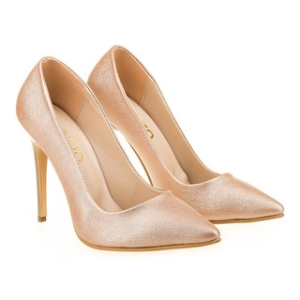 Pantofi stiletto somon Alessia