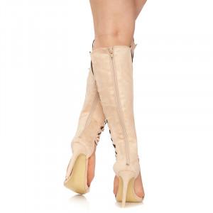 Sandale cu toc inalt Grazia
