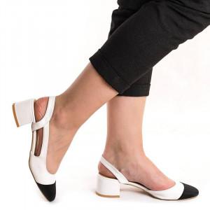 Sandale cu toc mic elegante Martina