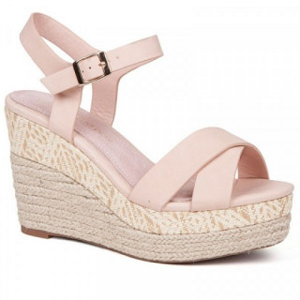 Sandale dama, ABBY, Nude