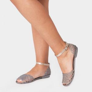 Sandale Dama, Lexi, Argintiu