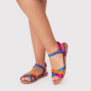 Sandale dama, MIRIAM , Fuxia