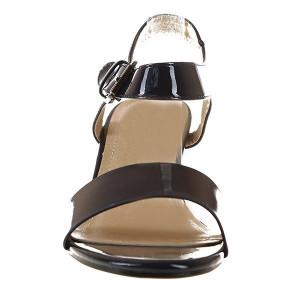 Sandale din lac cu toc Amelia 1