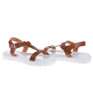 Sandale din piele naturala Dunya 1