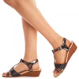Sandale lejere cu platforma joasa Amara