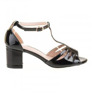 Sandale office elegante Antonia blk