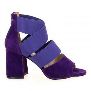 Sandale trendy cu toc gros Amalia