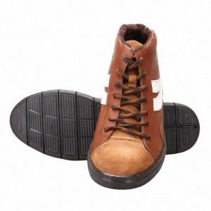 Sneakers barbati din piele naturala Arnold