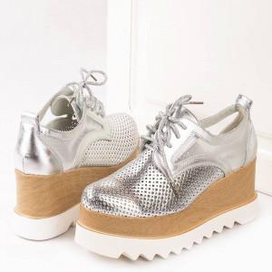 Sneakers cu talpa inalta Anita