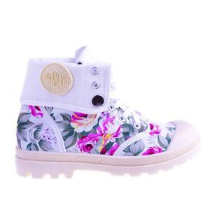 Sneakers Flower Power yellow