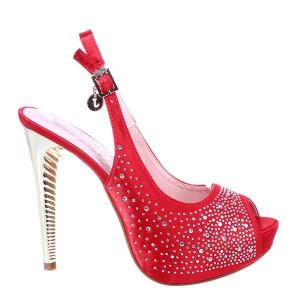 Sandale rosii Kyra
