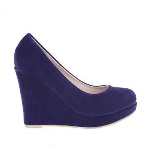 Pantofi Madina blu