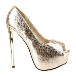 Pantofi cu platforma la moda Melania