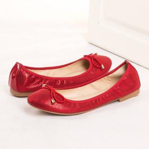 Balerini casual Natalie rosso