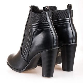 Botine cu toc office Isabell