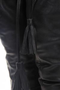 Cizme negre peste genunchi Tatum