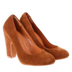 Pantofi Alyda camel