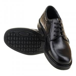 Pantofi barbati din piele naturala office Horacio negru