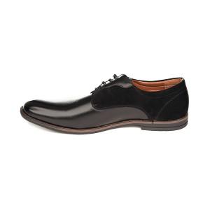 Pantofi barbati sport chic cu insertie de velur Doru