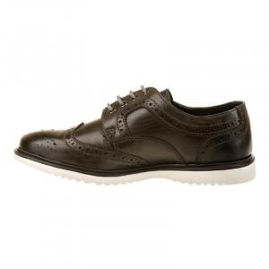 Pantofi casual oxford din piele naturala Alberte