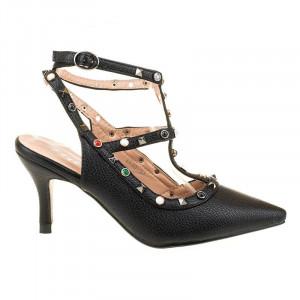 Pantofi cu toc mic la moda Mia