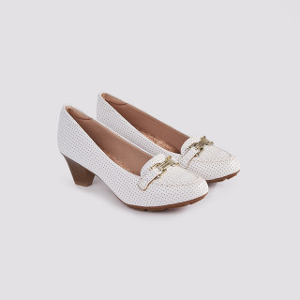 Pantofi dama, ARIEL, ALB