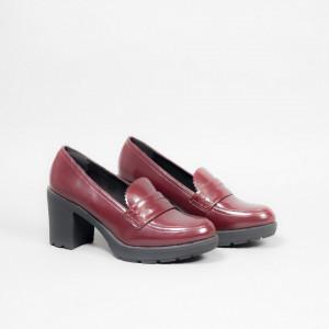 Pantofi dama IRMA bordo