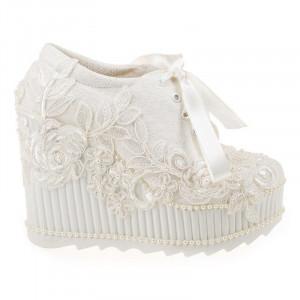 Pantofi de mireasa cu poseta inclusa Adela