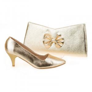 Pantofi de ocazie cu poseta inclusa Marta