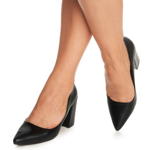 Pantofi office cu toc mic gros Arianie