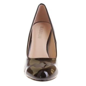 Pantofi office din lac Silvia