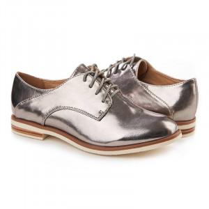 Pantofi sport chic Salma platino