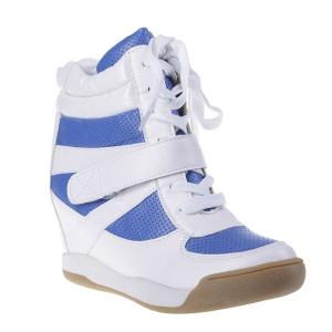 Pantofi sport Magda alb/blu