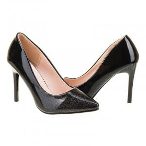 Pantofi stiletto chic Amira negru