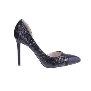 Pantofi Victoria negru/glitter