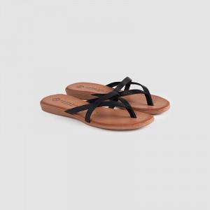 Papuci dama, GIA, Negru