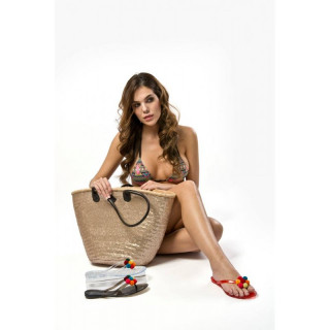 Papuci dama, Negru